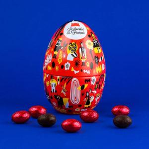"""Oeuf de Pâques """"Le petit chaperon rouge"""""""